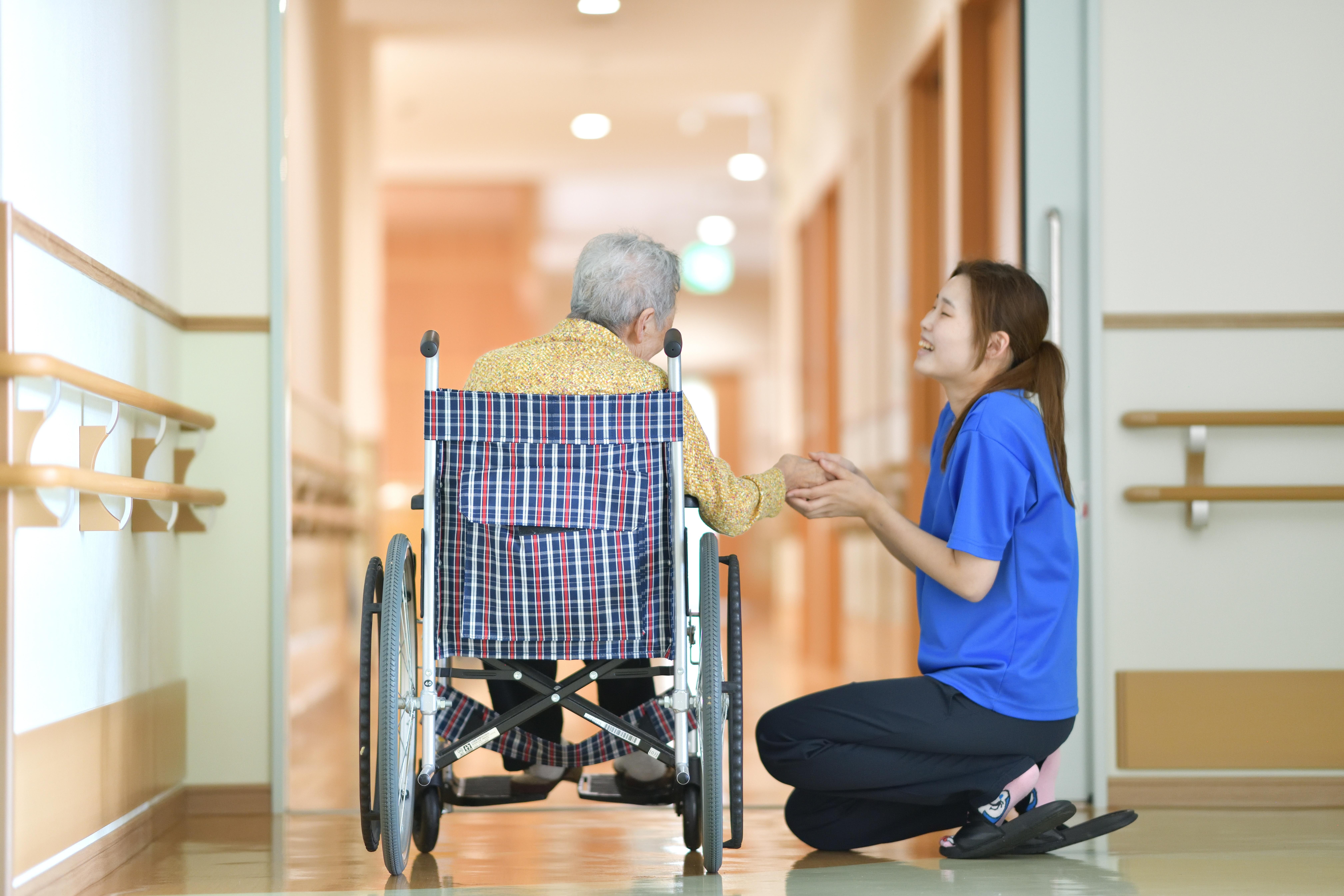 明石市にある介護施設藍の郷のデイサービス風景